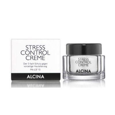 کرم استرس کنترل آلسینا